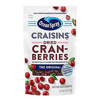 Ocean Spray Craisins Original Dried Cranberries,6 OZ