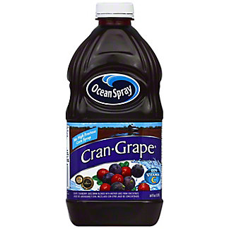 Ocean Spray Cran-Grape Juice Cocktail, 64 oz