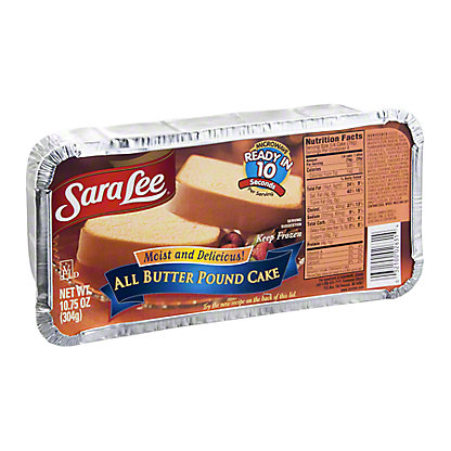 Sara Lee All Butter Pound Cake, 10.75 oz