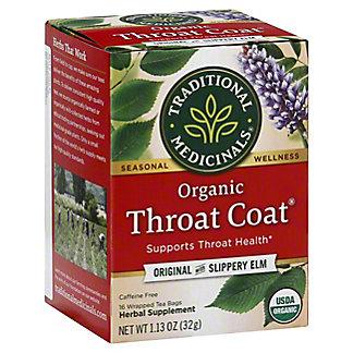 Traditional Medicinals Organic Throat Coat Caffeine Free Herbal Tea, 16 ct