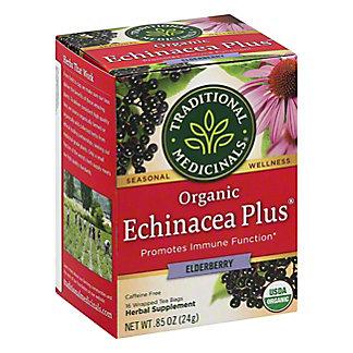 Traditional Medicinals Organic Echinacea Plus Elderberry Herbal Tea, 16 ea