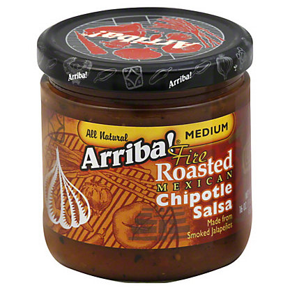Arriba! Fire Roasted Mexican Chipotle Medium Salsa,16 OZ