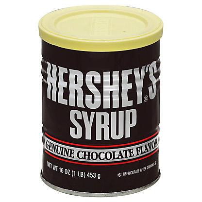 Hershey's Genuine Chocolate Flavor Syrup,16 OZ