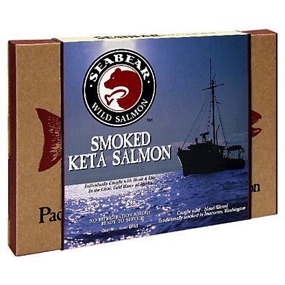 SeaBear Wild Salmon Wild Salmon Smoked Keta Salmon, 6 OZ