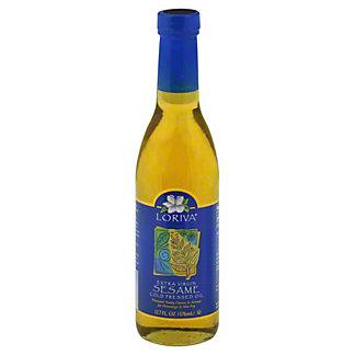 Loriva Cold Pressed Extra Virgin Sesame Oil, 12.7 OZ