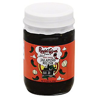 Ragin' Cajun Fixin's Spicy Sweet Jalapeno Relish,12 OZ