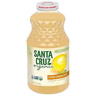 Santa Cruz Organic Organic Pure Lemon Juice,16 OZ