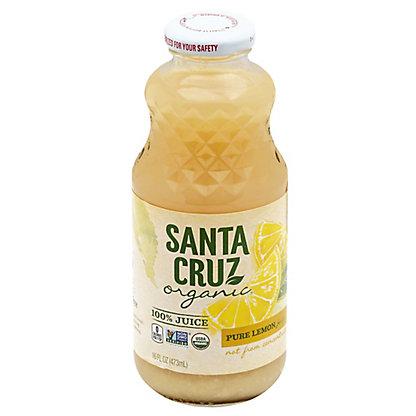 Santa Cruz Organic Organic Pure Lemon Juice,16 OZ