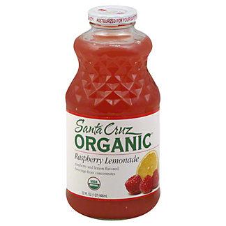 Santa Cruz Organic Lemonade Raspberry Juice,32OZ