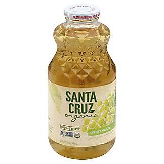 Santa Cruz Organic White Grape Juice,32 OZ