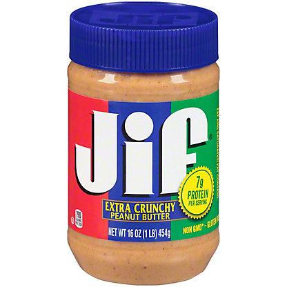 Jif Extra Crunchy Peanut Butter,16.00 oz