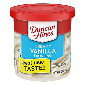 Duncan Hines Creamy Home Style  Classic Vanilla Frosting, 16 oz