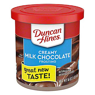 Duncan Hines Creamy Home Style  Milk Chocolate Frosting, 16 oz