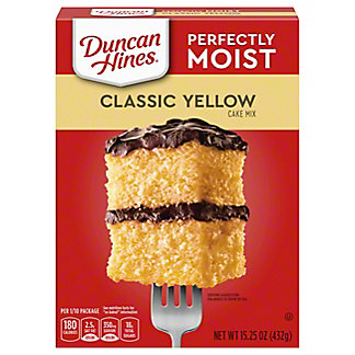 Duncan Hines Classic Yellow Cake Mix, 15.25 oz