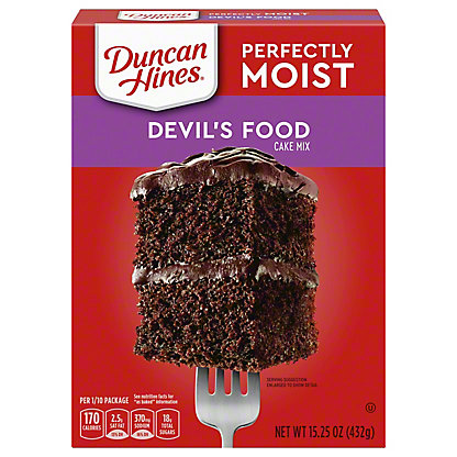 Duncan Hines Classic Devil's Food Cake Mix, 15.25 oz