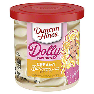 Duncan Hines Creamy Home Style Buttercream  Frosting, 16 oz
