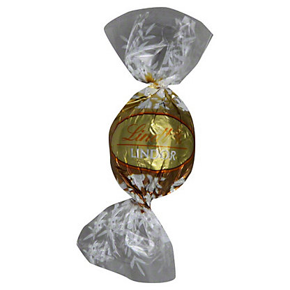 Lindt Lindor Limited Edition White Chocolate Balls,0.63OZ