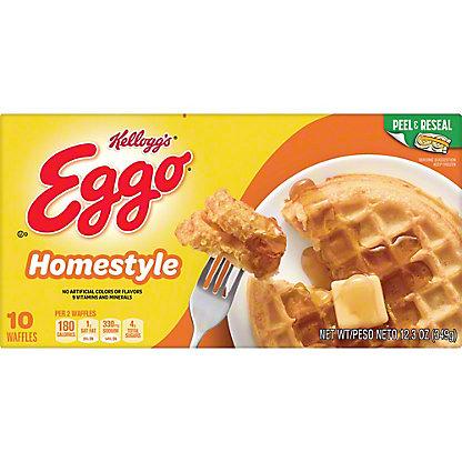 Eggo Homestyle Waffles, 10 ct