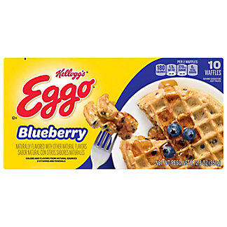 Eggo Blueberry Waffles, 10 ct