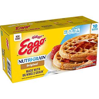 Eggo Nutri-Grain Whole Wheat Waffles, 10 ct