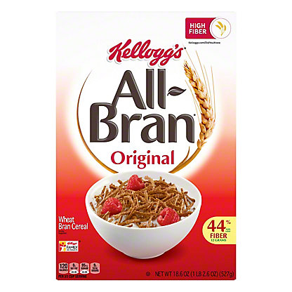 Kellogg's Original All-Bran Cereal, 18.3 oz