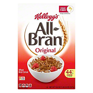 Kellogg's Original All-Bran Cereal, 18.3 oz