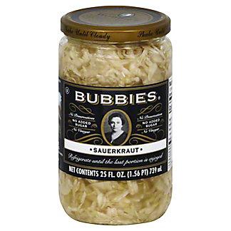 Bubbies Kosher Sauerkraut,25.00 oz