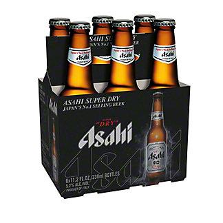Asahi Super Dry Beer 6 PK Bottles,12 OZ