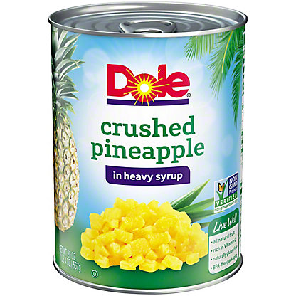 Dole Crushed Pineapple in Heavy Syrup, 20 oz