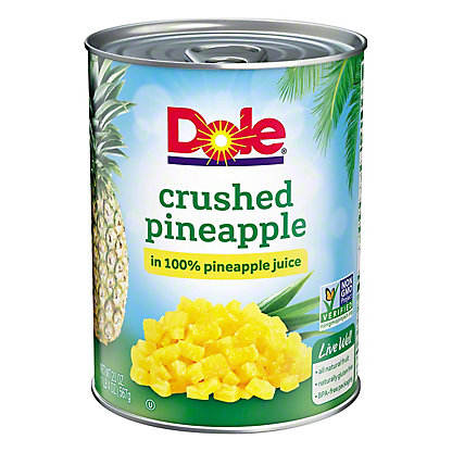 Dole Crushed Pineapple, 20 oz