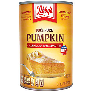 Libby's 100% Pure Pumpkin, 15 oz