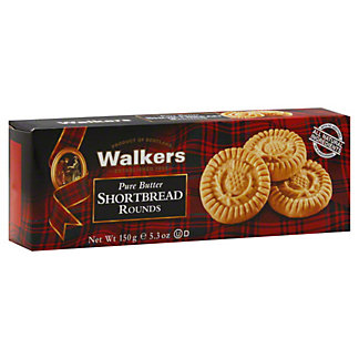 Walkers Pure Butter Shortbread Rounds,5.3 OZ