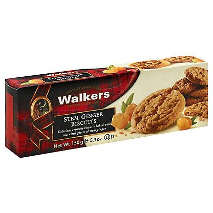 Walkers Stem Ginger Biscuits, 5.3 oz