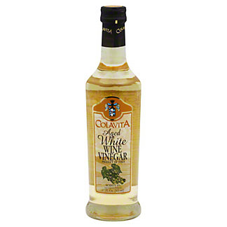 Colavita Aged White Wine Vinegar,16.9 OZ