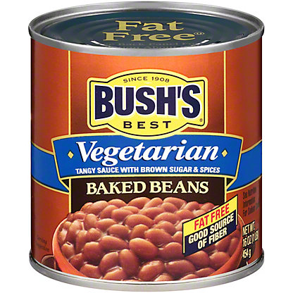 Bush's Best Vegetarian Baked Beans, 16 oz