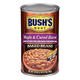 Bush's Best Maple Cured Bacon Baked Beans, 28 oz