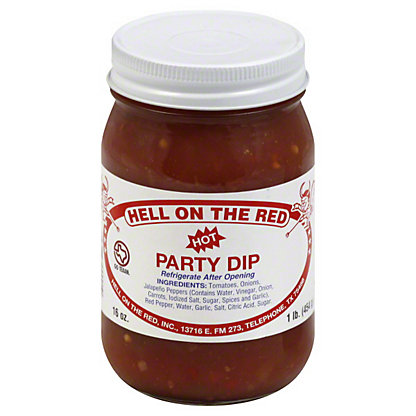 Hell On The Red Hot Party Dip,16 OZ