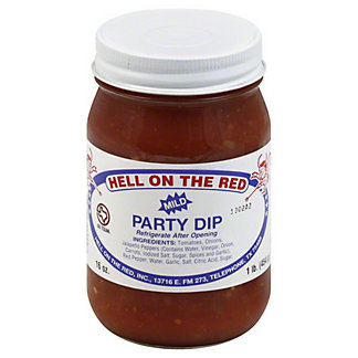 Hell On The Red Mild Party Dip,16 OZ