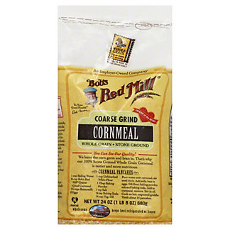Bob's Red Mill Whole Grain Stone Ground Coarse Grind Cornmeal,24 OZ