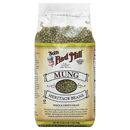 Bob's Red Mill Mung Heritage Beans, 27 oz