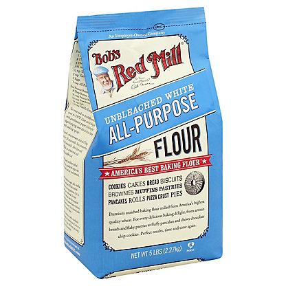 Bob's Red Mill Unbleached White Flour,5 LB