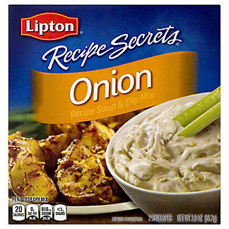 Lipton Recipe Secrets Soup and Dip Mix Onion, 2 oz