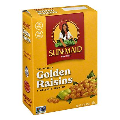 Sun-Maid California Golden Raisins,15 OZ