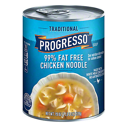 Progresso Traditional 99% Fat Free Chicken Noodle Soup,19 OZ