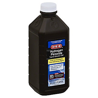 H-E-B 3% USP Hydrogen Peroxide Solution,16 OZ