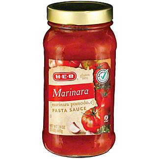 H-E-B Marinara Pasta Sauce,24.00 oz