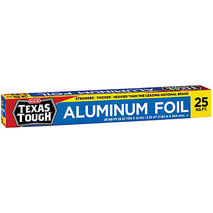 H-E-B Texas Tough Aluminum Foil,25 sq ft