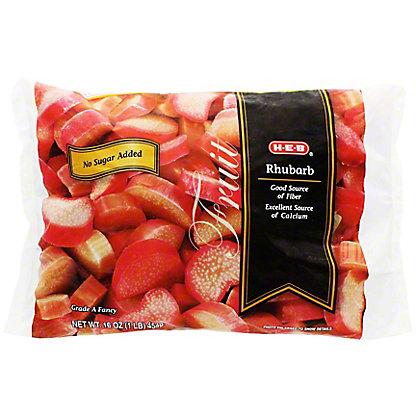 H-E-B Rhubarb (No Sugar Added),16 oz
