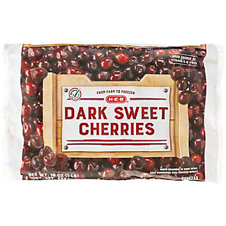 H-E-B Dark Sweet Cherries (No Sugar Added), 16 oz