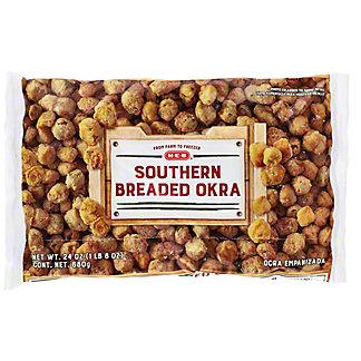 H-E-B Southern Breaded Okra, 24 oz
